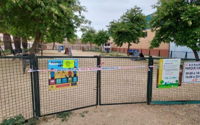 El Parque Canino permanecerá cerrado durante varios días por desinsectación