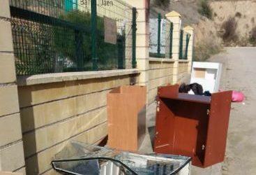 El Punto Limpio de Bailén amplía su horario de apertura los martes y sábados por la tarde