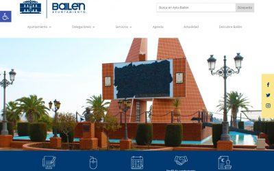 El Ayuntamiento renueva el diseño de su página web