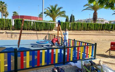 El Parque Infantil de Las Palmeras permanecerá precintado durante el fin de semana
