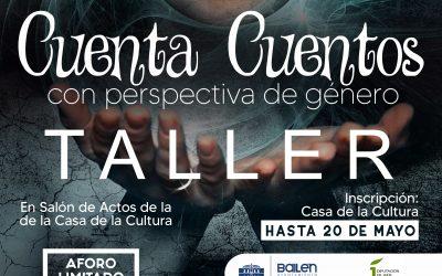 Taller de cuentacuentos con perspectiva de género para los jóvenes de Bailén