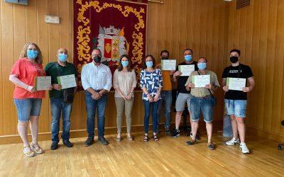 26 personas consiguen el carnet de conductor de carretilla elevadora dentro del programa ERACIS