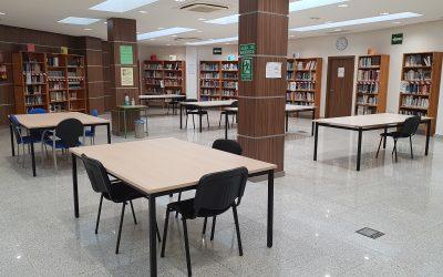 Reapertura de servicios al público en la Biblioteca y Salón de Actos de la Casa de la Cultura