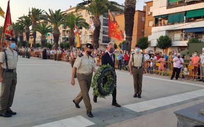Acto de Homenaje a los que dieron su vida por España en el 213 aniversario de la Batalla de Bailén