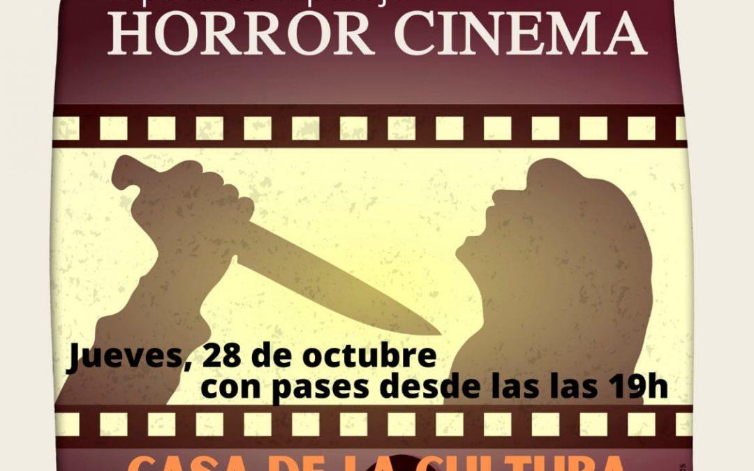 Las más famosas escenas del cine de terror se vivirán en la Casa de la Cultura